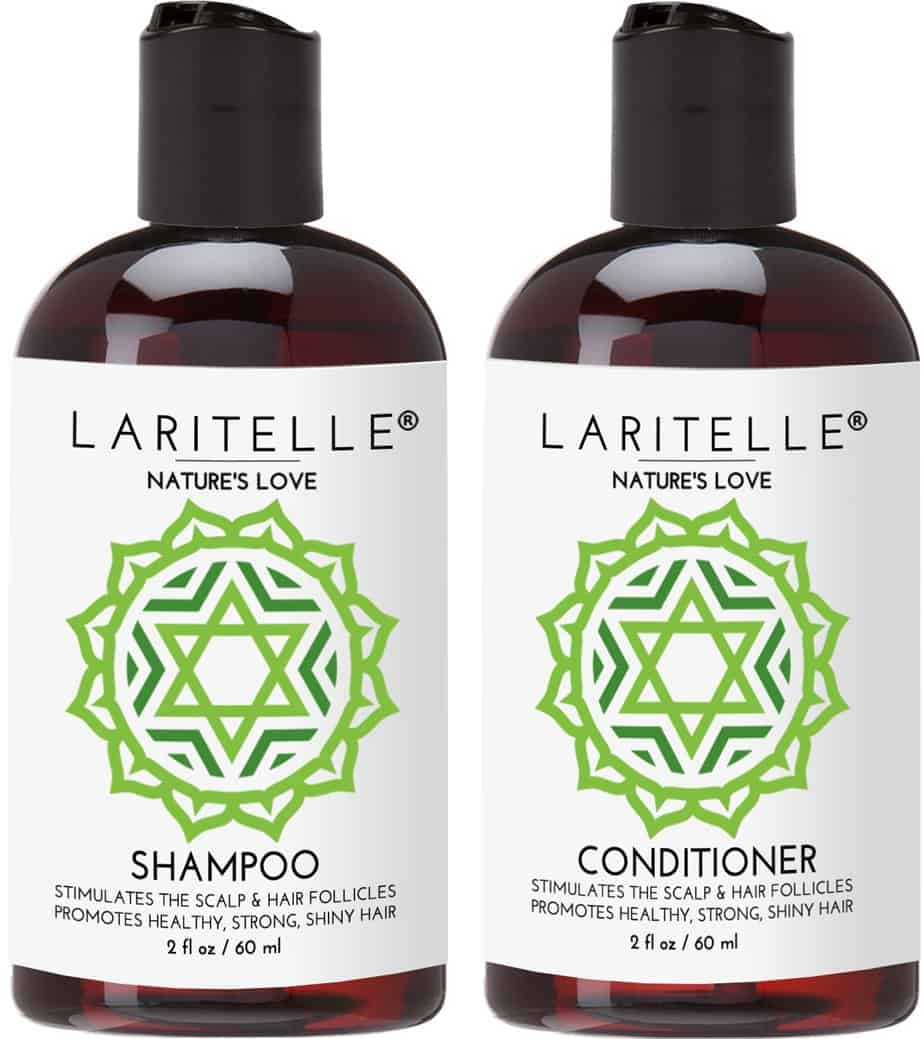 natural travel size shampoo and conditioner