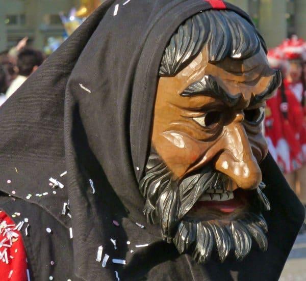 Masks of carnival in Baden-Württemberg, Germany