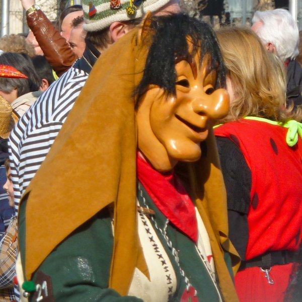 Masks of carnival, Germany