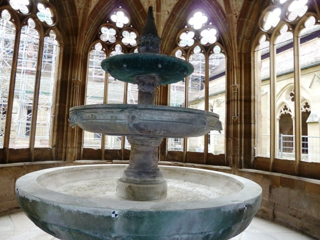 Maulbronn monastery fountain in Baden-Württemberg, Germany