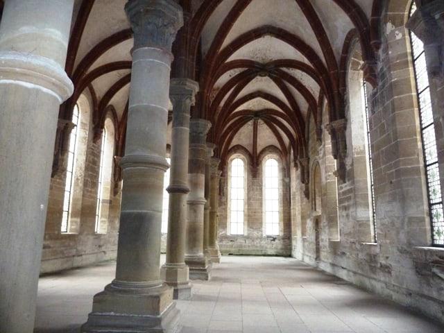 Maulbronn monastery hall in Baden-Württemberg, Germany