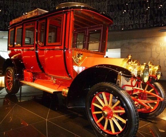 Early car model