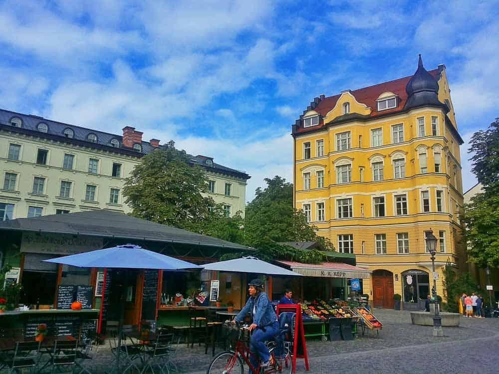 Weinerplatz in Haidhausen Munich Germany