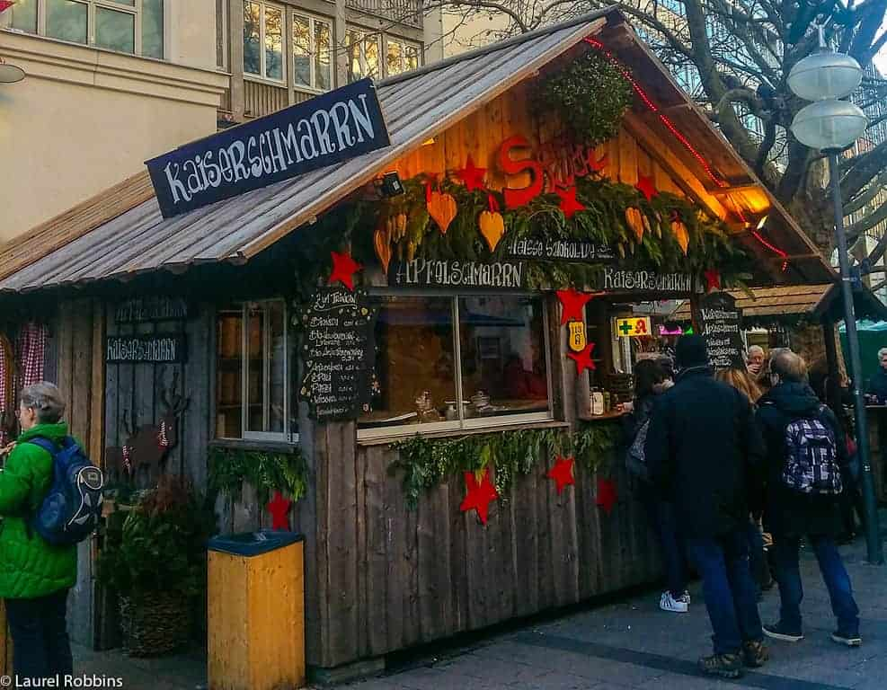 Kaiserschmarrn is a must-try at the Munich Christmas Market in Germany