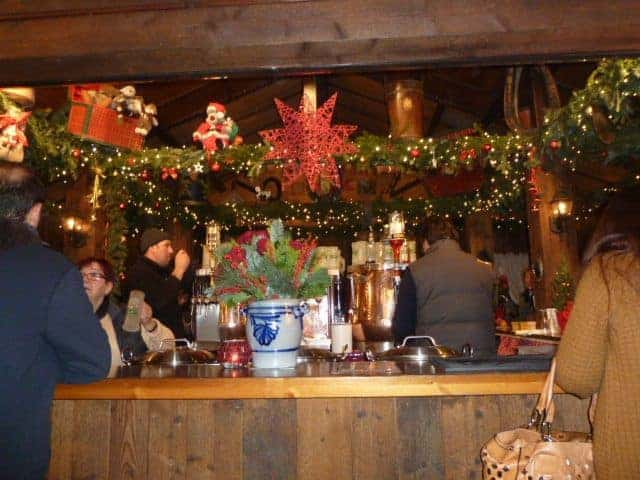 gluehwein (mulled wine), a popular holiday drink in Germany