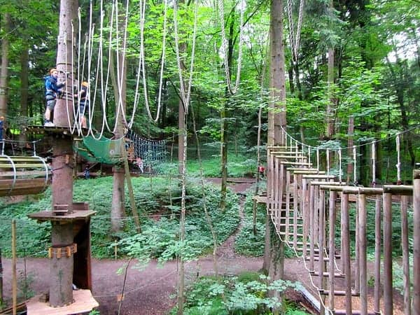 Climbing forest Prien am Chiemsee, Germany
