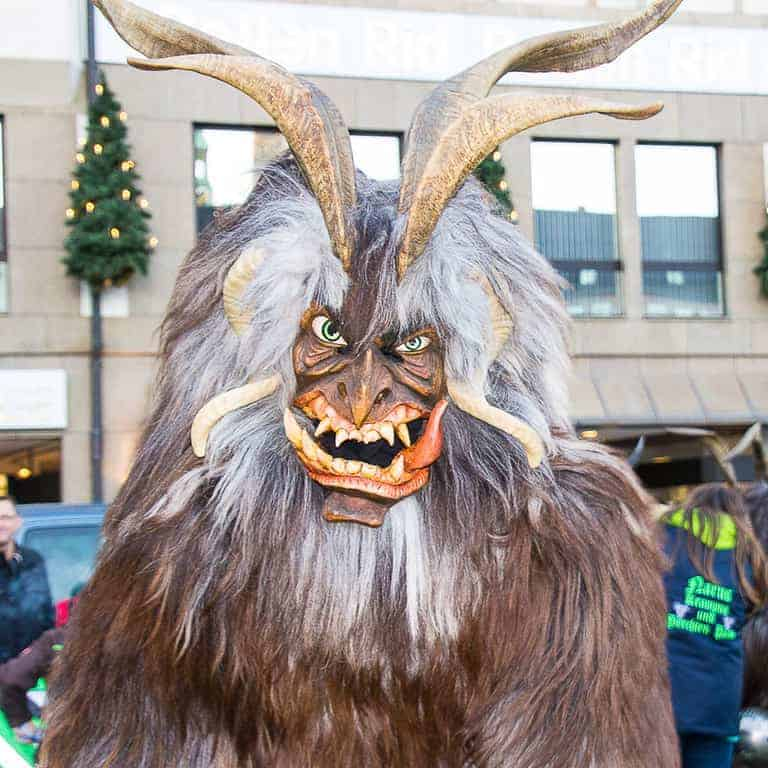 When you're visiting a Christmas market, plan your visit in advance to catch special events like the Krampus Run in Munich, Germany every December.