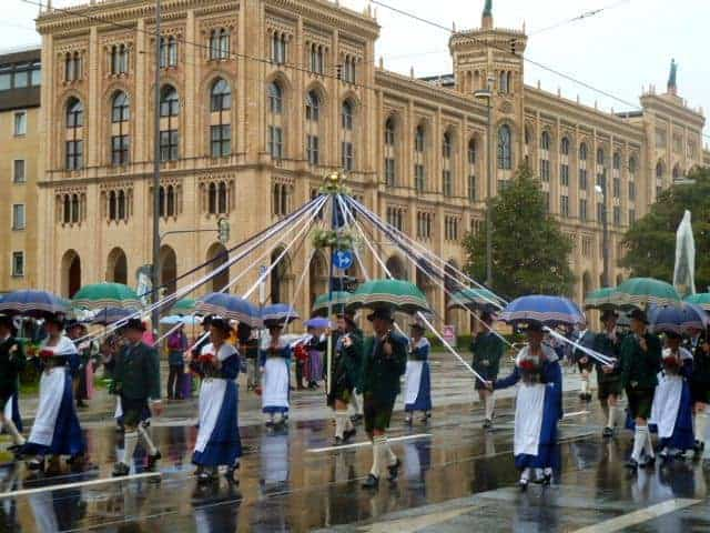oktoberfest parade, munich, bavaria, germany