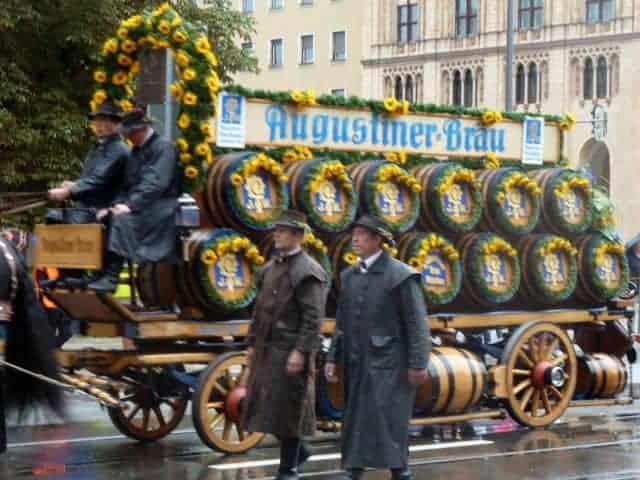 oktoberfest parade beer