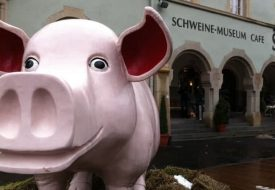 World's largest pig museum in Stuttgart, Germany