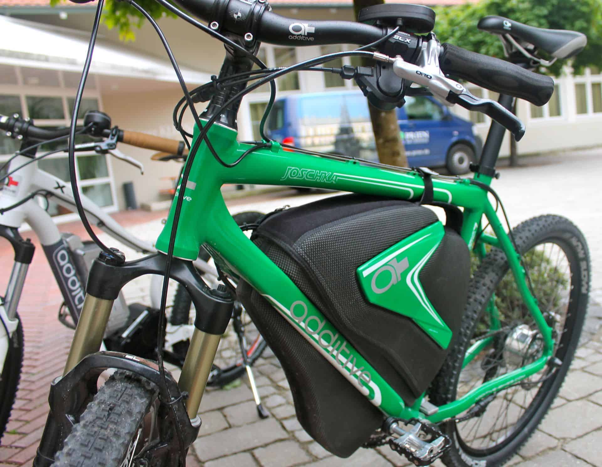 Additive bike at Prien am Chiemsee, Germany