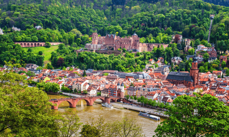 Old Town of Heidelberg