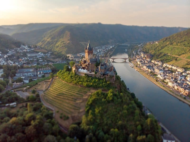 Cochem castle - best castles in germany