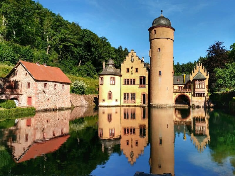Mespelbrunn Water Castle - best castles in germany
