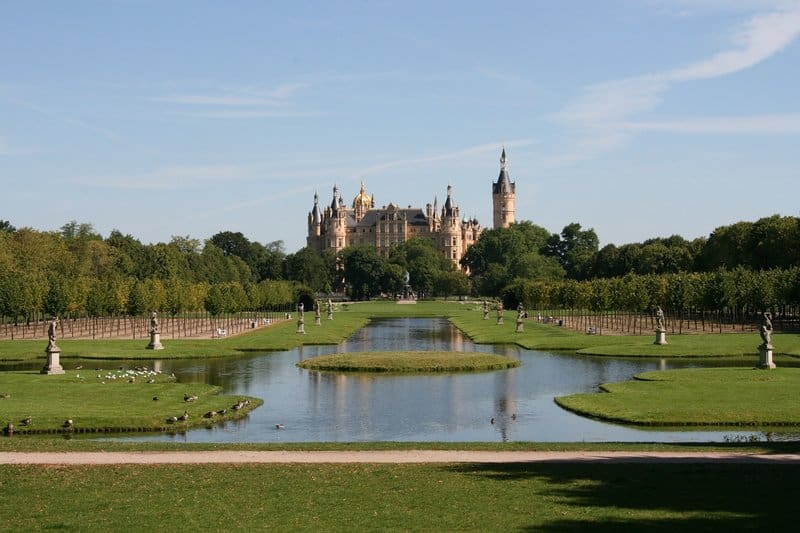 Schwerin Castle - best castles in germany