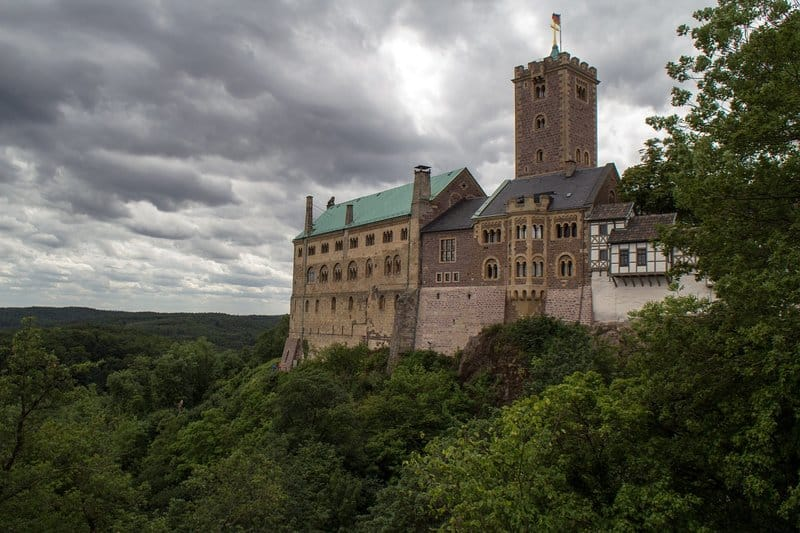 Wartburg Castle - best castles in germany