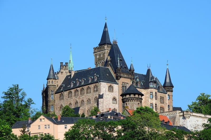 Wernigerode Castle - best castles in germany