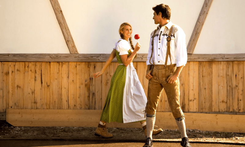 Traditional Clothing on German Beer Festivals