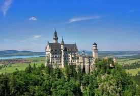 Germany's most famous castle Neuschwanstein