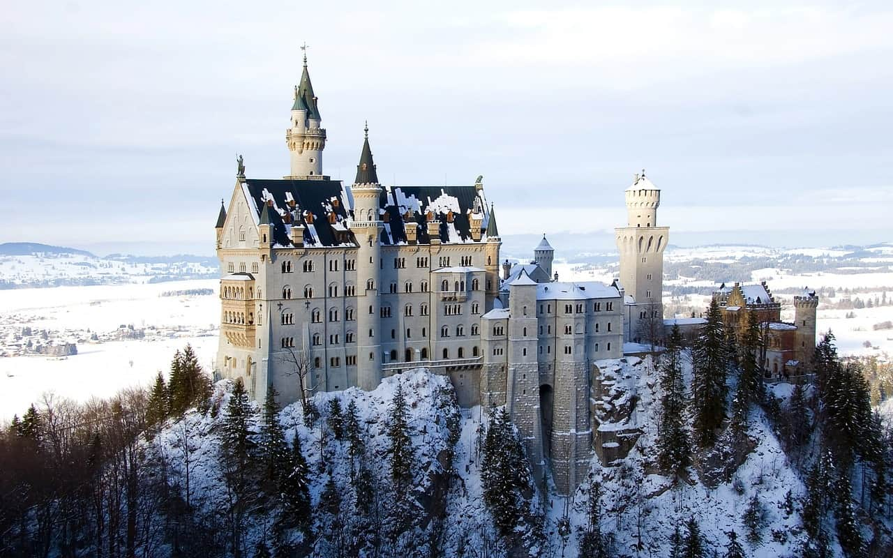 neuschwanstein castle germany itinerary