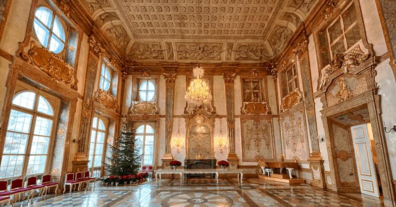 german castle hotel inside