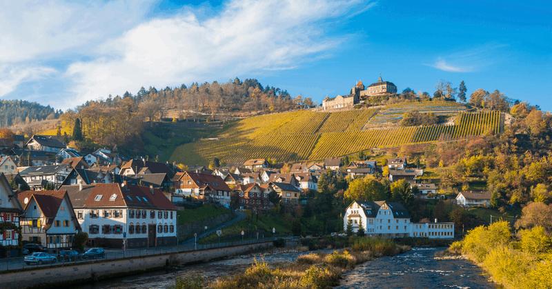 German Castle Hotel Schloss Eberstein